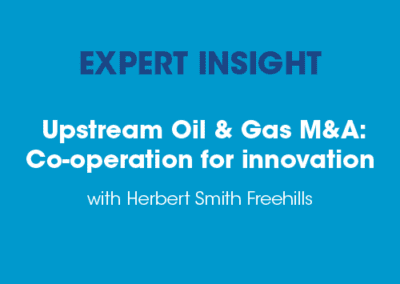 Upstream Oil & Gas M&A: Co-operation for innovation