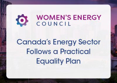 Canada's Energy Sector follows a Practical Equality Plan