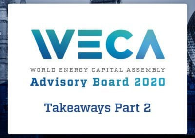 WECA Advisory Board Takeaways – Part 2