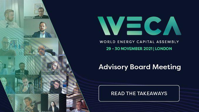 WECA 2021 Advisory Board Takeaways
