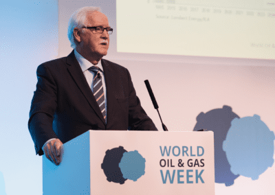 Mike Doherty, CEO, Impact Oil & Gas presenting at World Oil & Gas Week 2016.