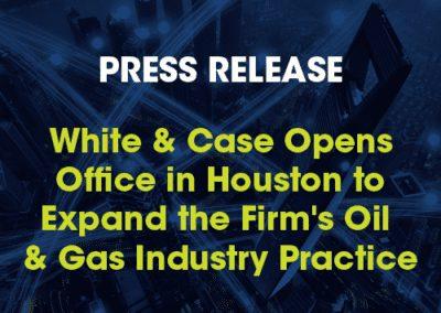 White & Case: Press Release