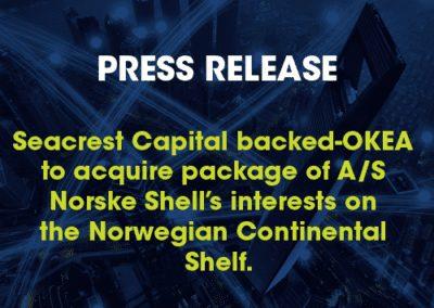 Seacrest: Press Release