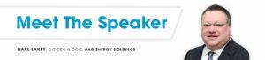 carl lakey meet the speaker banner